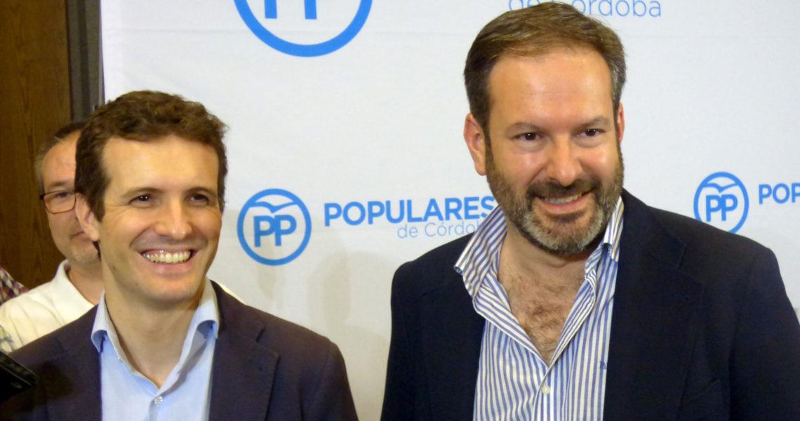 Conferencia de Pablo Casado en el PP de Córdoba